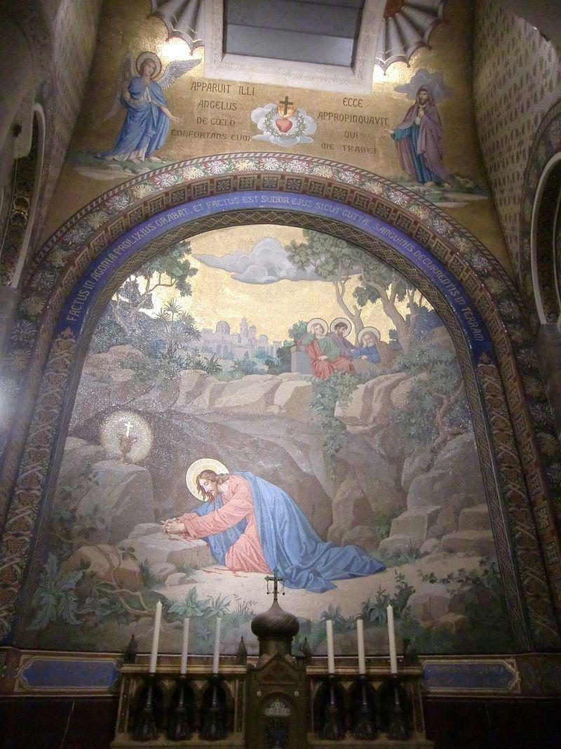06 - Jardin Des Oliviers - Basilique Notre-Dame-Du-Rosaire avec Les Jardins De Lourdes