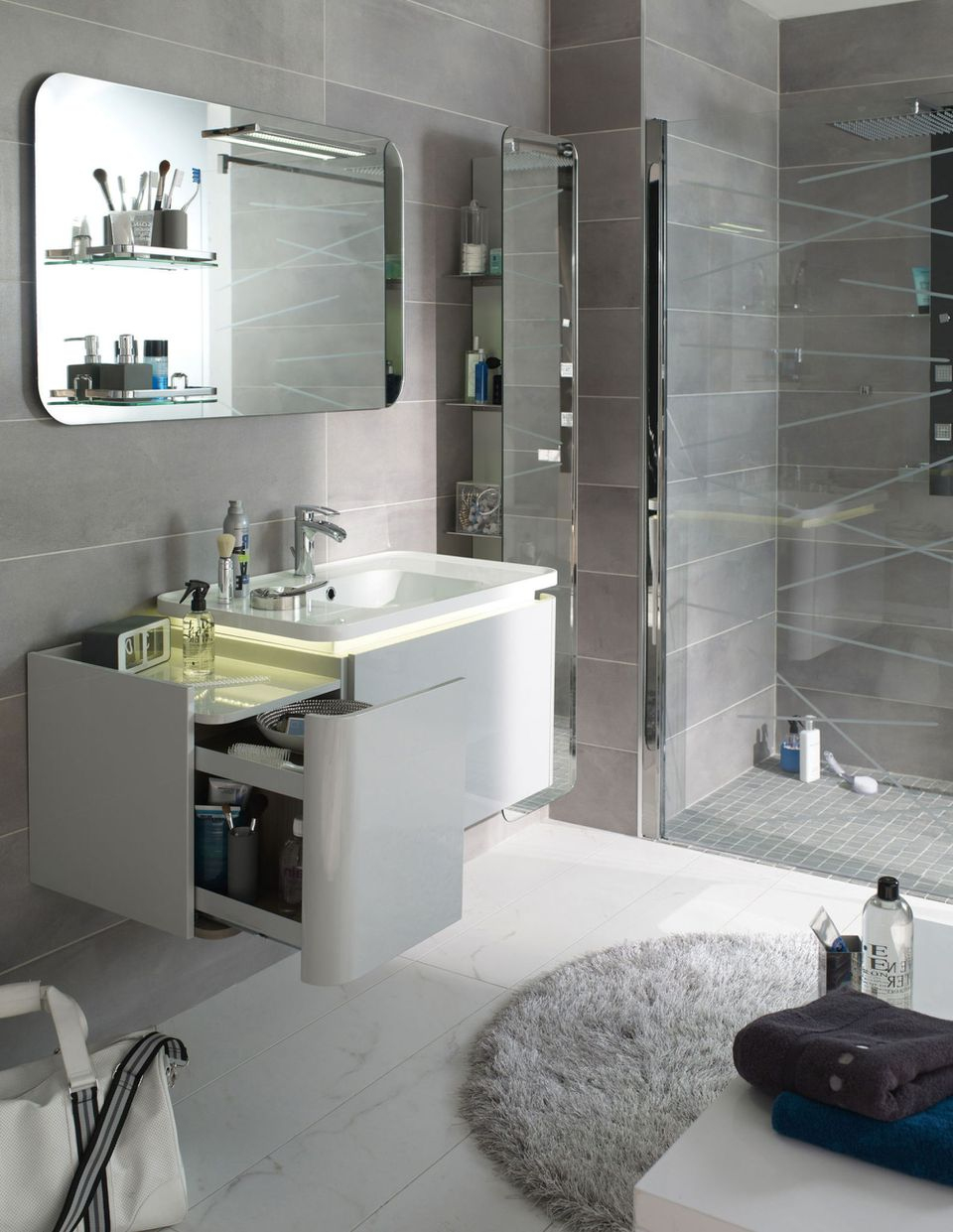 10 Astuces Pour Aménager Une Petite Salle De Bains destiné Créer Sa Salle De Bain