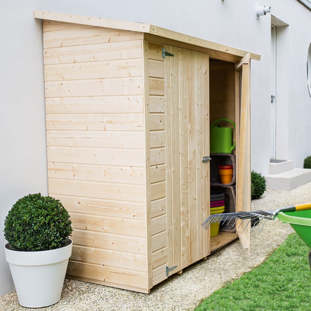 10 Diseños De Casetas De Madera Para Crear Un Jardín à Abris De Jardin Adossable