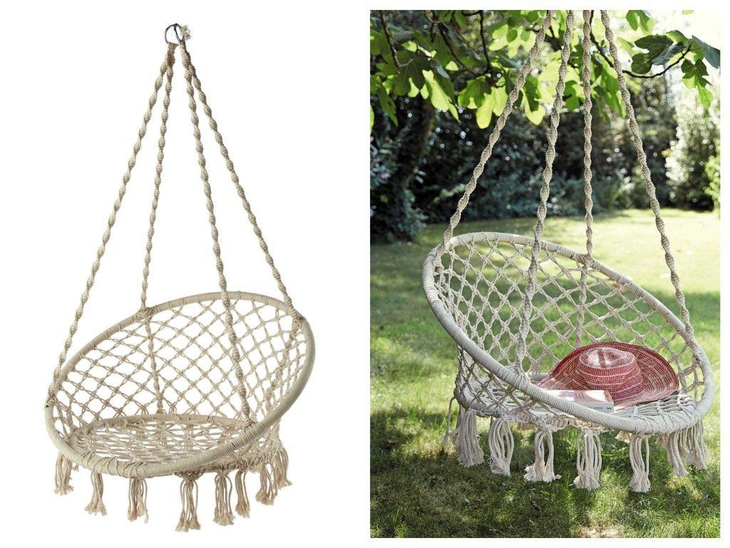 10 Fauteuils Suspendus - Blog Déco Design | Assieds-Toi concernant Chaise Suspendue Jardin