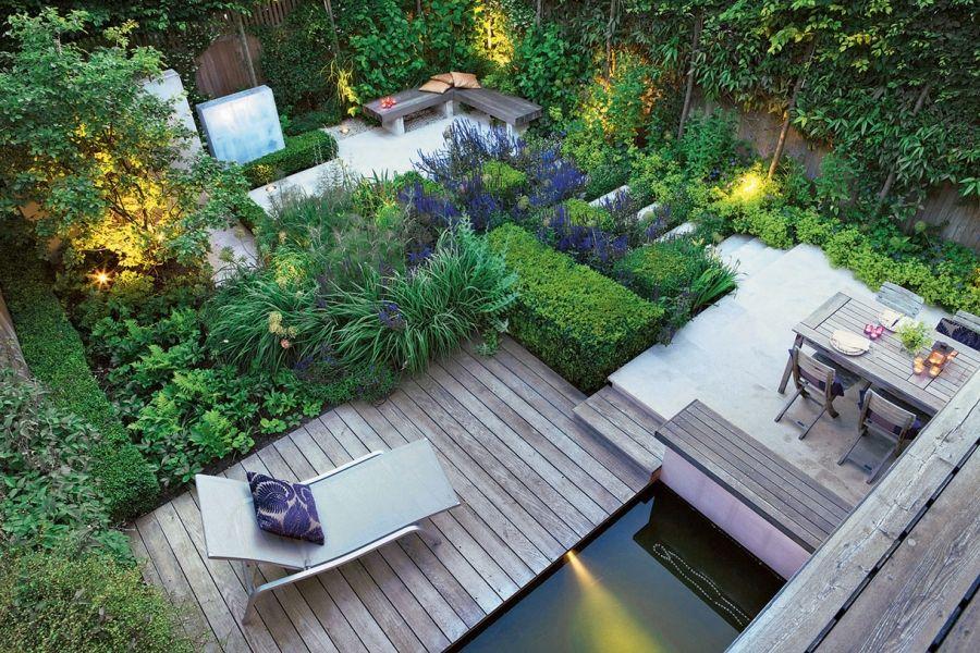 10 Idées Pour Aménager Un Petit Jardin | Aménager Petit intérieur Petit Cabanon De Jardin