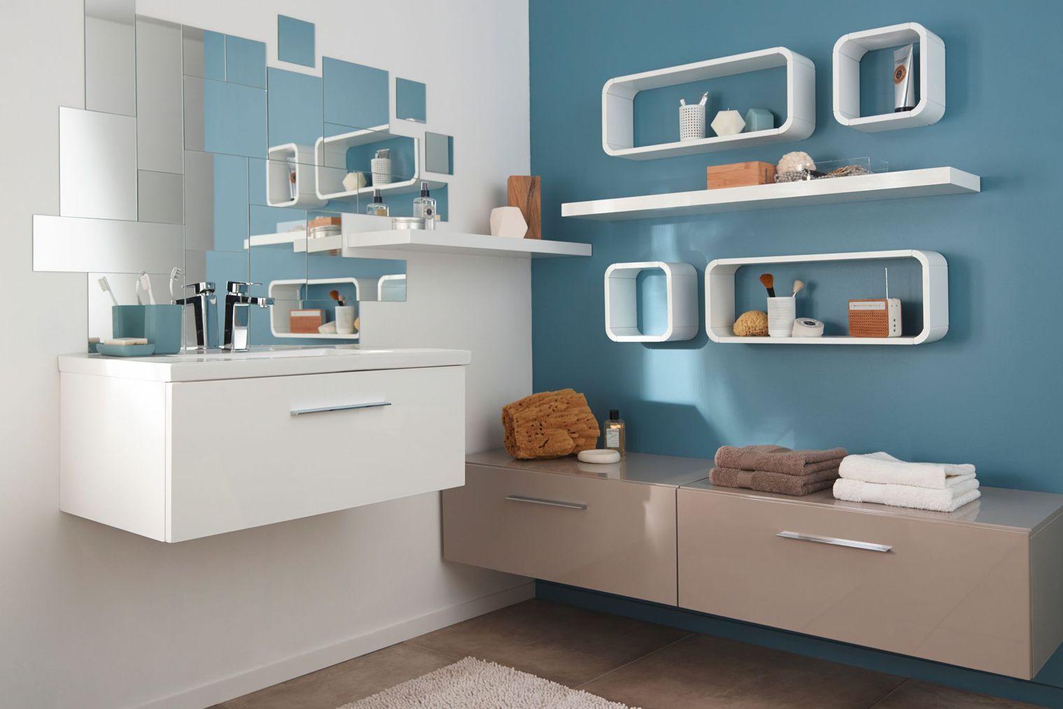 10 Idées Pour Décorer Sa Salle De Bains Du Sol Au Plafond intérieur Accessoire Decoration Salle De Bain