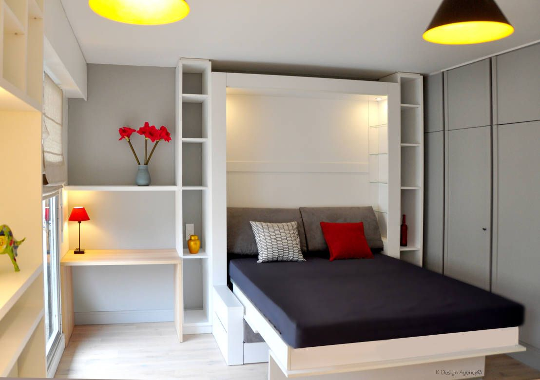 10 Magnifiques Chambres Minimalistes.!!   Scandinavian tout Chambre Des Métiers De L Ain