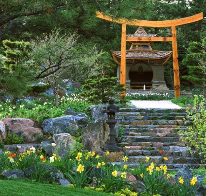 1001 + Conseils Et Idées Pour Aménager Un Jardin Zen serapportantà Abri De Jardin Style Japonais