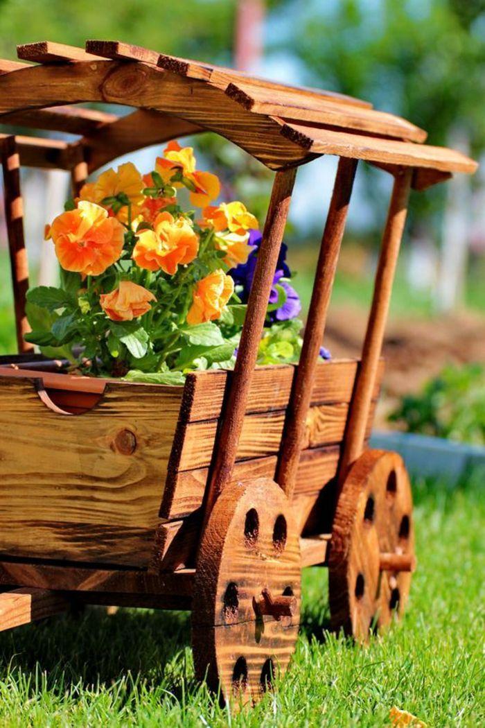 1001 + Idées Pour Décorer Son Jardin + Des Accessoires pour Brouette Deco Jardin