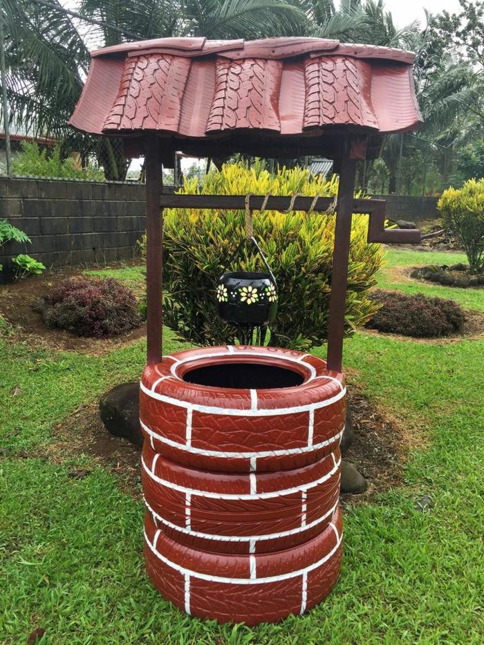 1001+ Inspirations Pour Une Décoration De Jardin À Faire avec Puit Decoratif Jardin