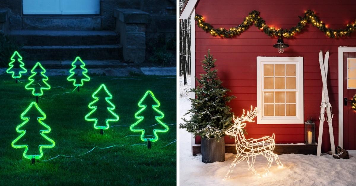 11 Idées De Décoration De Noël Lumineuse Pour L'Extérieur concernant Idee Deco Exterieur