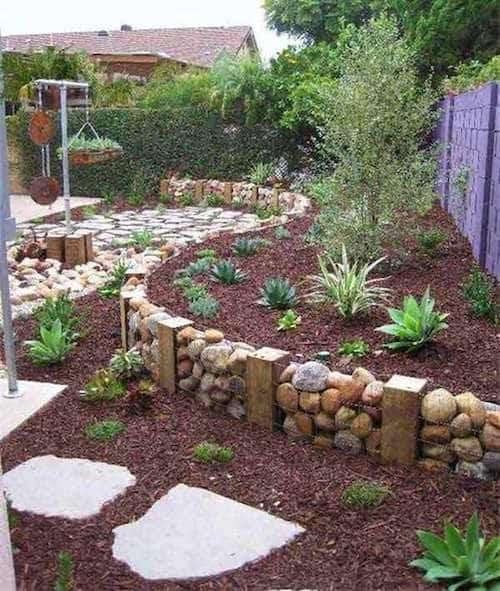 11 Superbes Bordures De Jardin Que Vous Aimeriez Bien pour Bordure Jardin Pas Cher