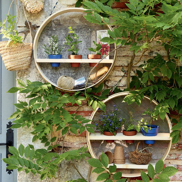 117 Best Diy Jardin Images On Pinterest   Balcony Ideas destiné Etagere De Jardin
