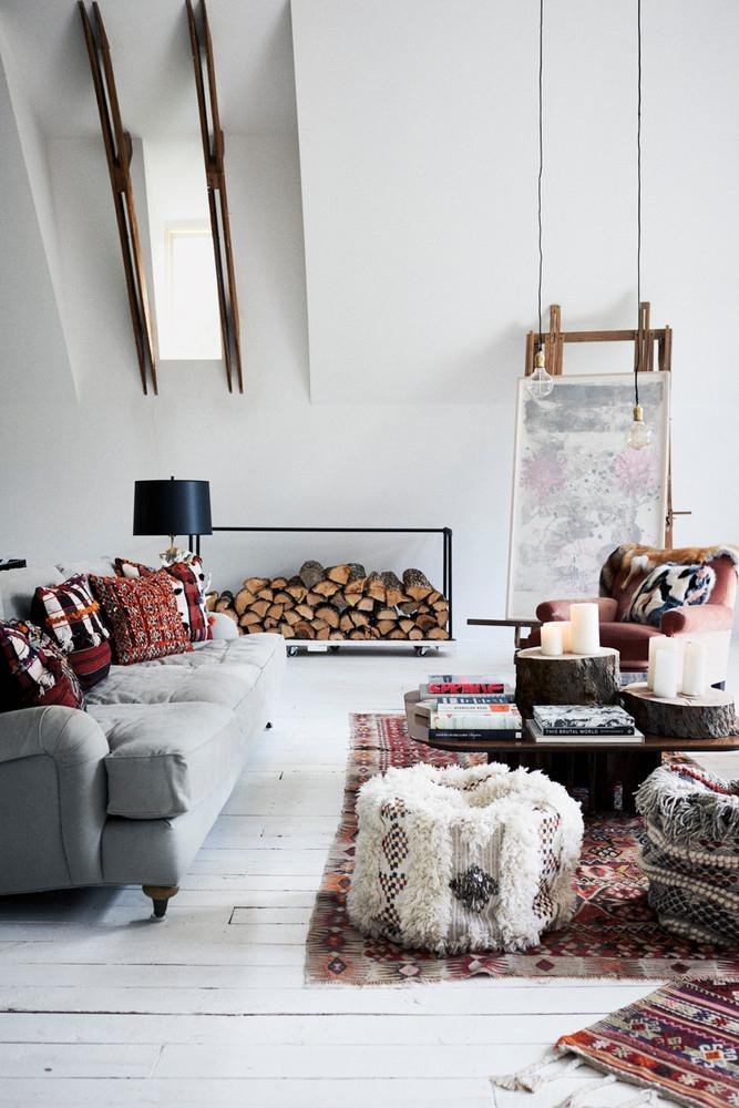 12 Idées Pour Créer Une Déco Cosy Dans Son Salon Cet Hiver encequiconcerne Idee De Salon