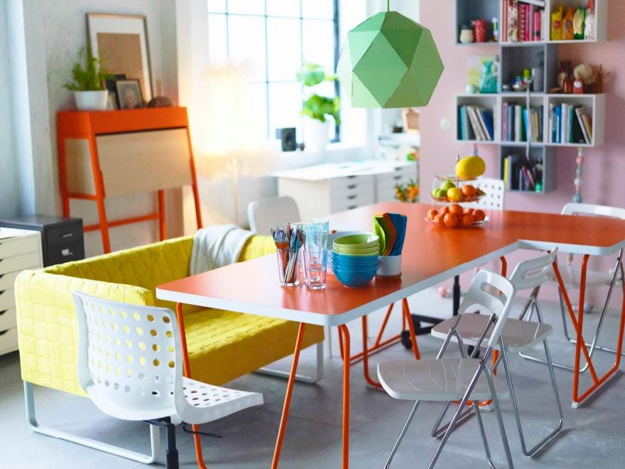 2 Tables De Salle À Manger, 3 Configurations - Ikea tout Table Salle A Manger Ikea