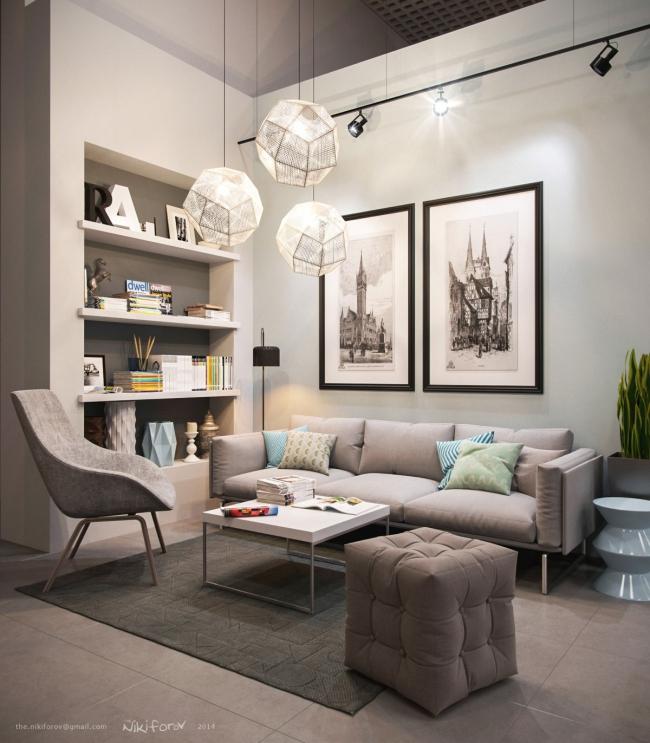 21 Idées De Décoration Design Pour Son Salon à Idee De Salon