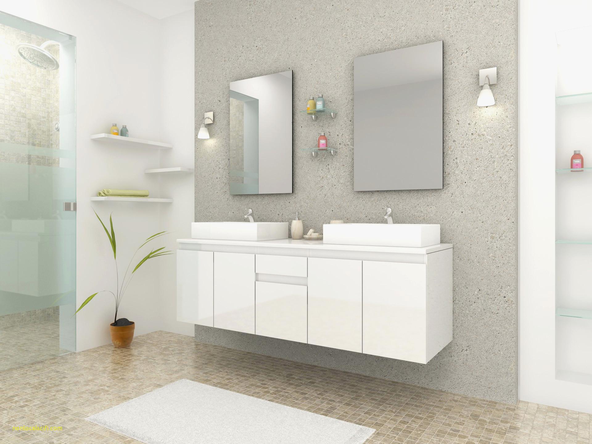 28 Concept Meuble Salle De Bain 100 Cm intérieur Vasque 100 Cm 2 Robinets