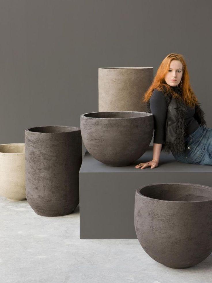 4 Créateurs Modernes De Pots Design Et Jardinières De tout Grande Poterie De Jardin