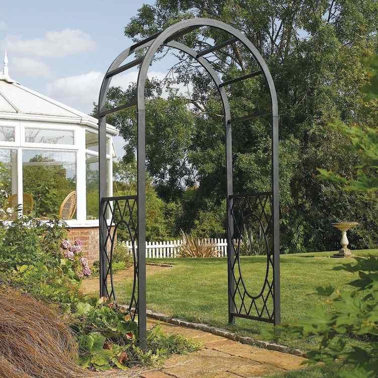 6 Styles D' Arche De Jardin Pour Booster La Décoration dedans Arche De Jardin En Bois