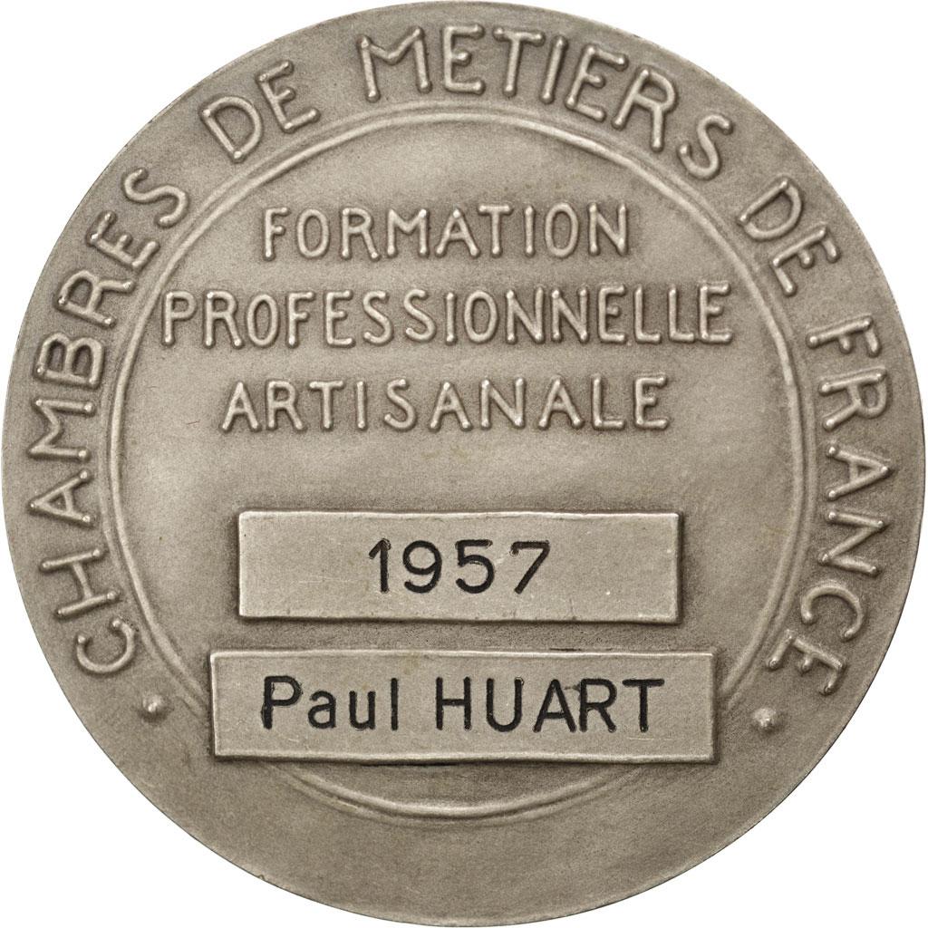 #68659 Chambres Des Métiers De France, Médaille : Sup concernant Chambre Des Metiers Troyes