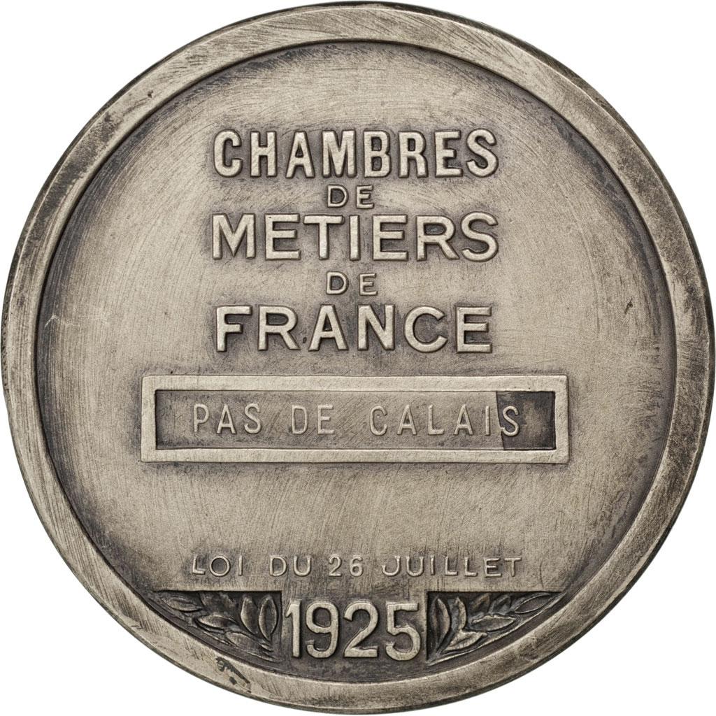 #68660 Chambres Des Métiers De France, Médaille : Sup dedans Chambre Des Metiers Bastia