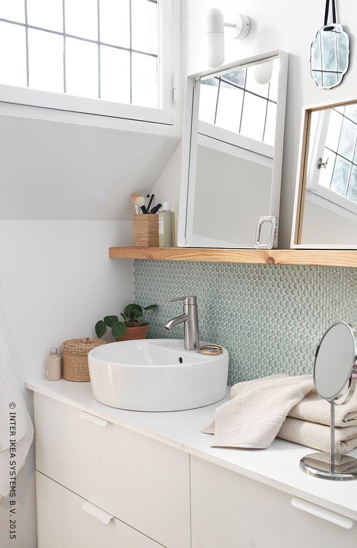 83 Best Salle De Bain Images On Pinterest   Bathroom serapportantà Salle De Bain Ikea