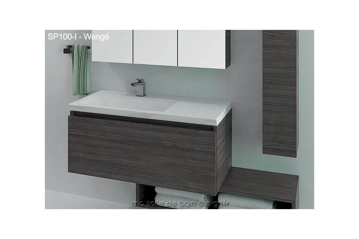 87 Des Idées Meuble Vasque 100 Cm intérieur Vasque 100 Cm 2 Robinets