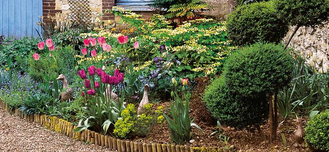 9 Idées De Bordures Pour Le Jardin concernant Delimitation Jardin