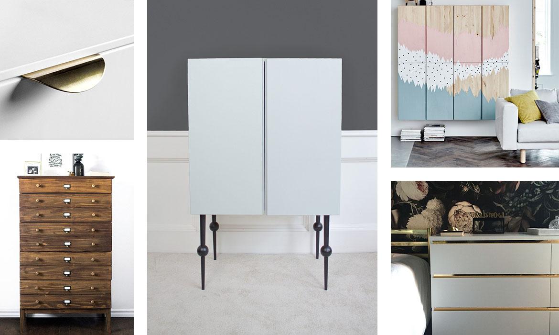 9 Idées Pour Relooker Un Meuble Ikea Facilement | Une pour Revêtement Adhésif Pour Meuble Ikea