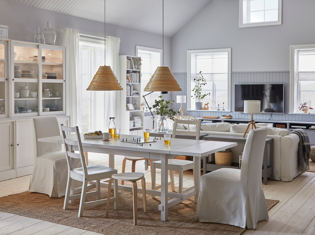 A Bright Dining Room Where Dreams Are Shared - Ikea dedans Table Salle A Manger Ikea
