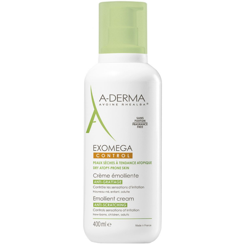 A Derma - Exomega Control Emollient Cream 400Ml, Atopic concernant A Derma Exomega