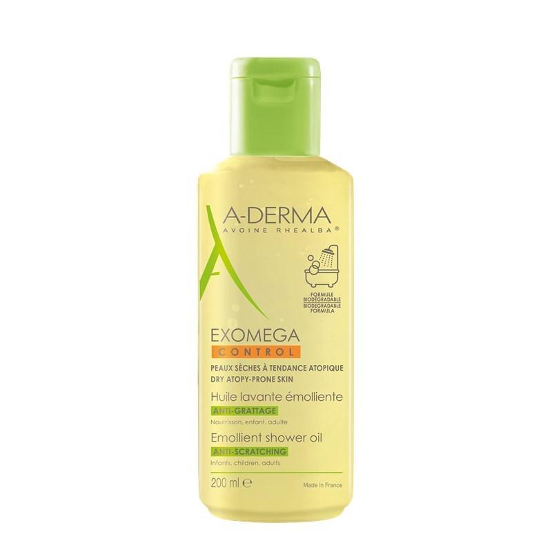 A-Derma Exomega Control Emollient Shower Oil, 200Ml | Pharm16 concernant A Derma Exomega