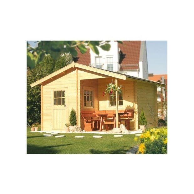 Abri De Jardin 15,20 M2 Jersey 34 Mm Avec Plancher à Abri De Jardin Avec Plancher