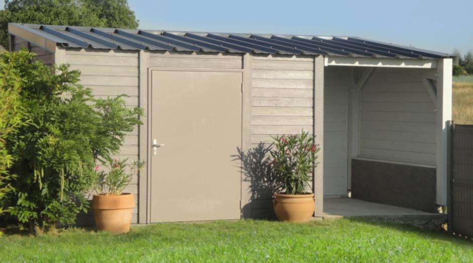 Abri De Jardin 20M2 Beton - Châlet, Maison Et Cabane pour Abri De Jardin Thonon 20M2