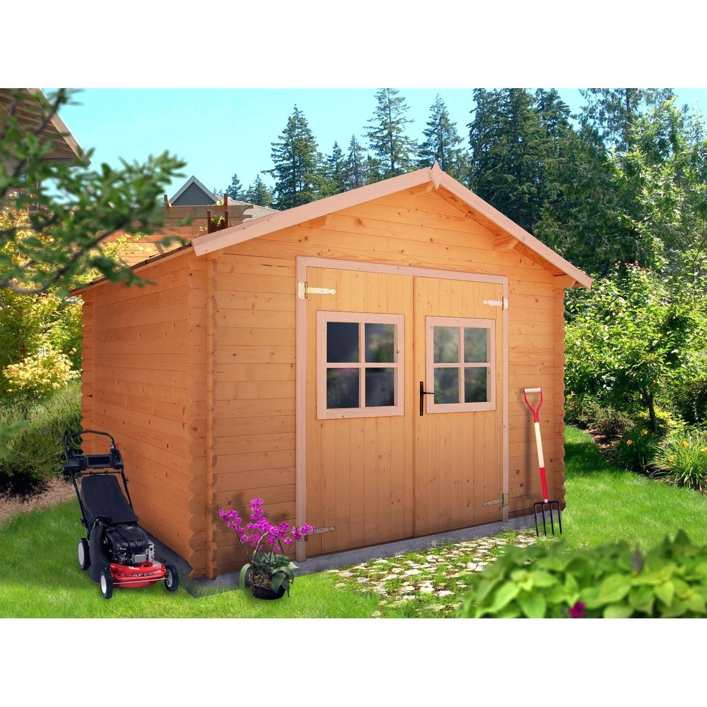 Abri De Jardin 5M2 Avec Plancher - Veranda Et Abri Jardin dedans Abri De Jardin Moins De 5M2