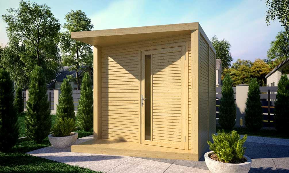 Abri De Jardin Baltic Hellebore, Panneaux Bois Modulaires destiné Abri Jardin Design