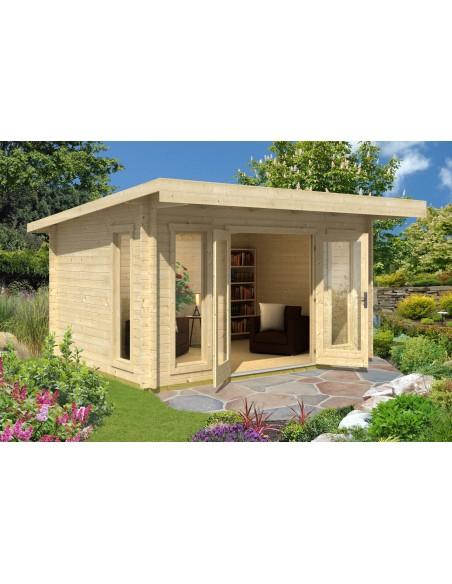Abri De Jardin Barbados 12.3 M² Avec Plancher - Bois encequiconcerne Abri De Jardin Avec Plancher