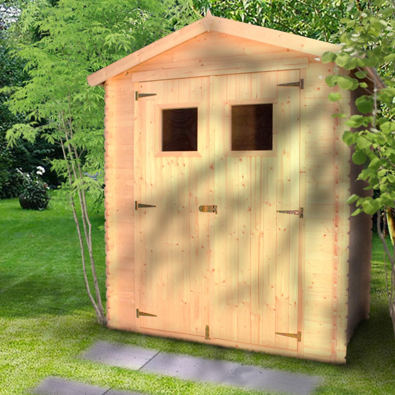 Abri De Jardin Bois 2,34 M2 : Trigano Store pour Abri De Jardin En Bois Namur