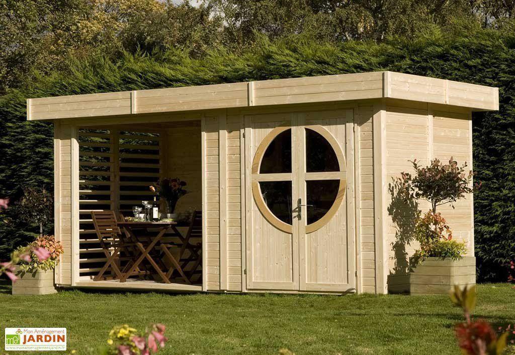 Abri De Jardin Bois Design 19Mm Relax Naturel destiné Petit Cabanon De Jardin