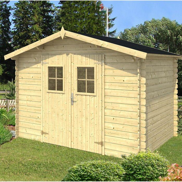 Abri De Jardin Bois Palko 4.97 M² - Abri De Jardin Leroy tout Leroy Merlin Abri De Jardin