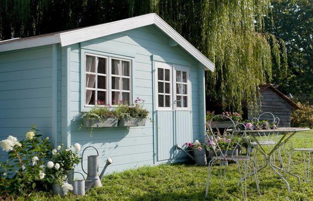 Abri De Jardin Bois, Pvc, Toit Plat | Abri De Jardin Bois avec Abri De Jardin Pvc Toit Plat