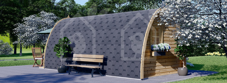 Abri De Jardin Bretagne (28 Mm), 3X6 M, 18 M² serapportantà Abri De Jardin 2X3
