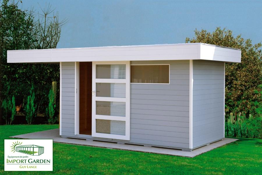 Abri De Jardin Contemporain Abri De Jardin Toit Plat Au concernant Abri De Jardin Moderne Design