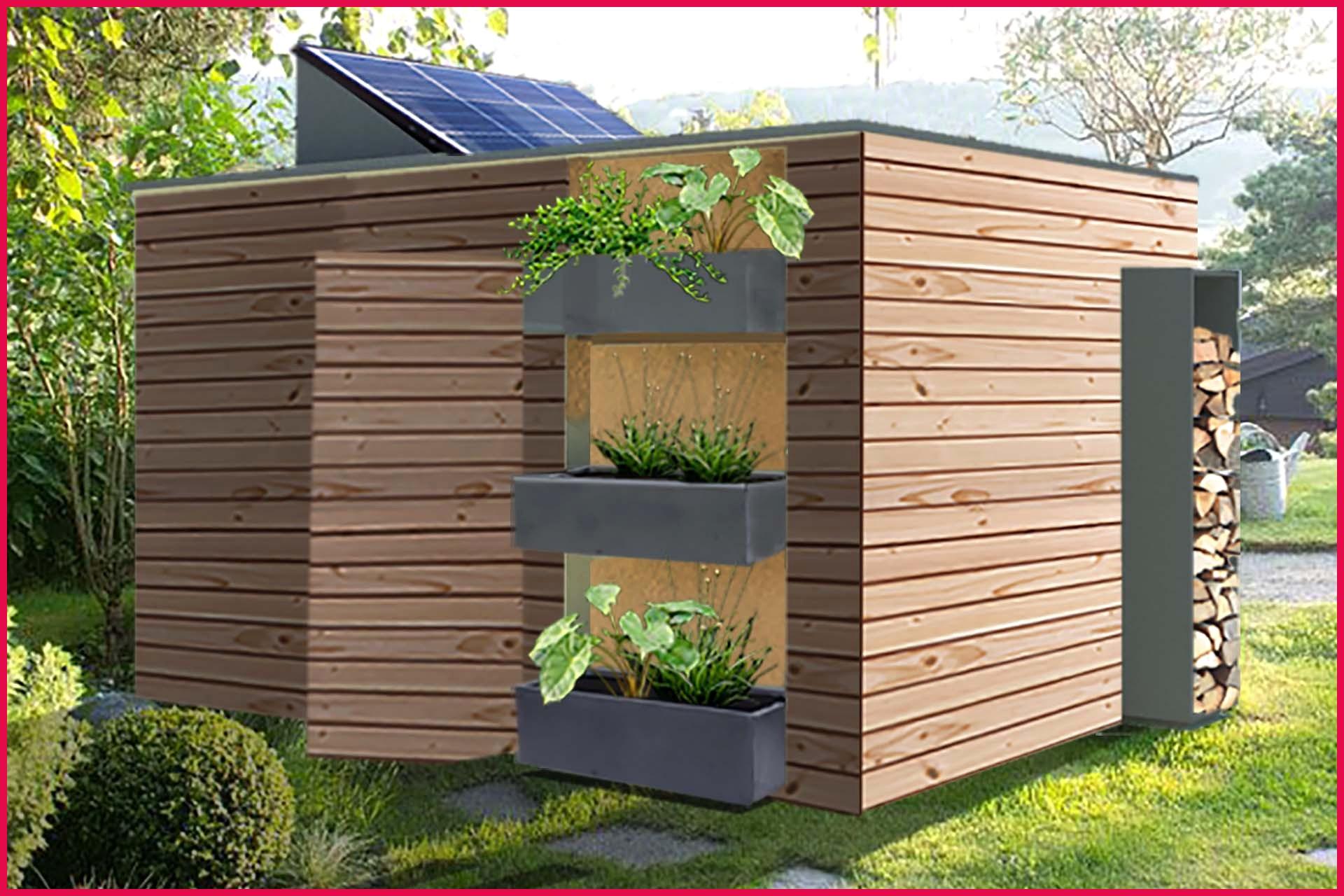 Abri De Jardin Design pour Abri De Jardin 30M2