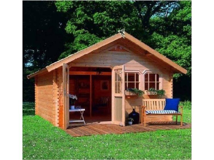 Abri De Jardin Doderic 17,39M² - Abri De Jardin Conforama serapportantà Abri De Jardin Semi Habitable