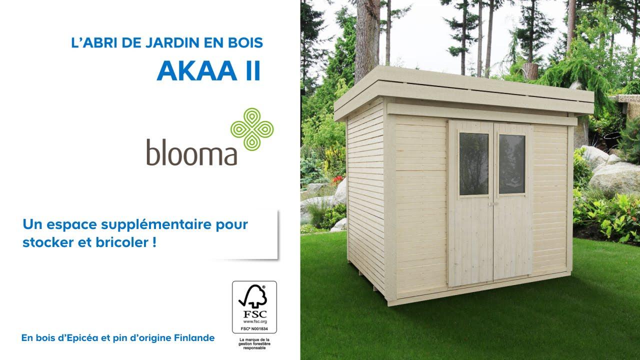 Abri De Jardin En Bois Akaa Blooma (676229) Castorama avec Abri De Jardin Bois 5M2 Castorama