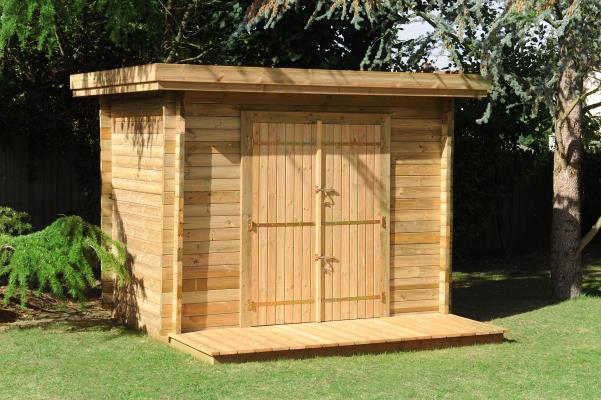 Abri De Jardin En Bois : Le Choix D'un Matériau Noble pour Construire Un Abris De Jardin