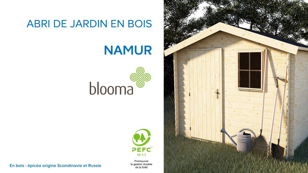 Abri De Jardin En Bois Namur Blooma (630680) Castorama concernant Abri De Jardin Foir'Fouille