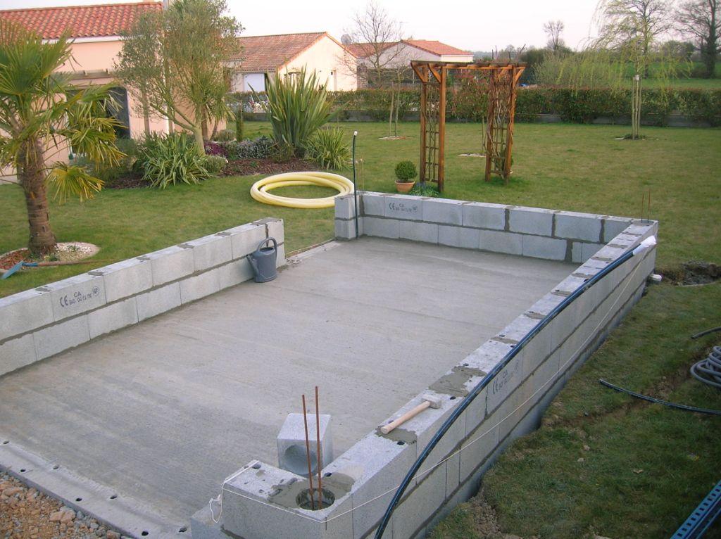 Abri De Jardin En Dur Prix Fondation Garage L Impression pour Abri De Jardin En Dur