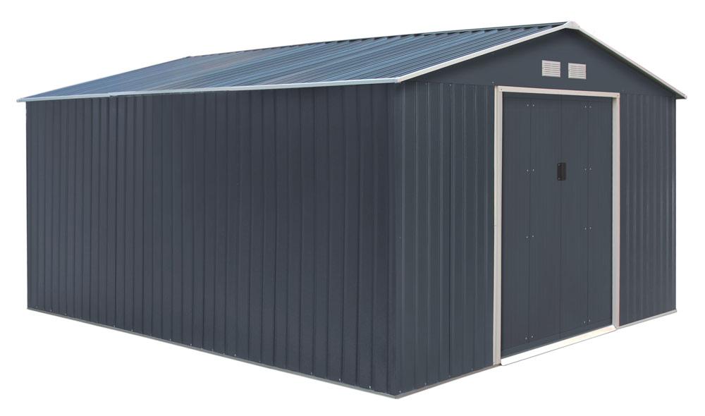 Abri De Jardin En Métal 10.85 M² + Kit D'Ancrage Offert avec Abri Jardin Oogarden