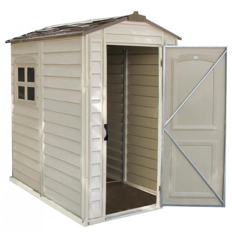 Abri De Jardin En Pvc Woodstyle Premium 2,04M² Duramax encequiconcerne Abri De Jardin En Pvc