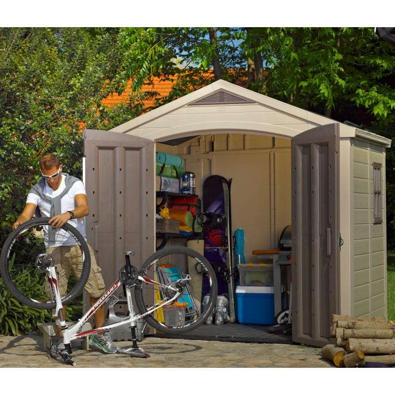 Abri De Jardin En Résine Sydney 4,41M² + Plancher Keter concernant Abri De Jardin En Résine Sydney 4,41M² + Plancher Keter