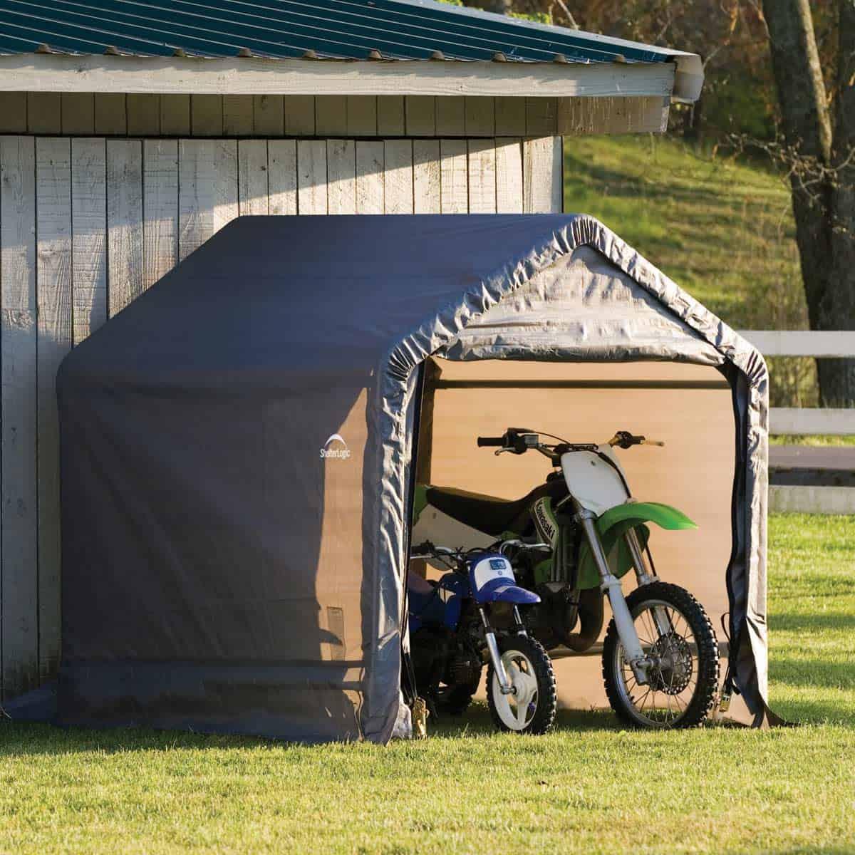 Abri De Jardin En Toile 3 24m2 De 1 8m X 1 8m Pour Abri Interieur Abri Moto Jardin Agencecormierdelauniere Com Agencecormierdelauniere Com