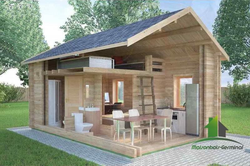Abri De Jardin Habitable tout Abri De Jardin Semi Habitable